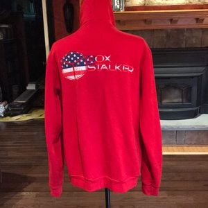 EUC men's CrossFit box stalker zip-up hoodie